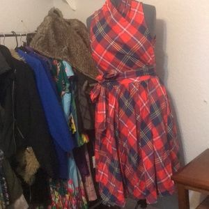 ModCloth NWT Plaid Dress